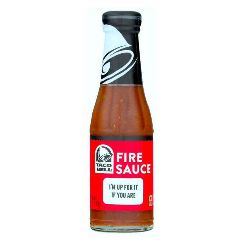 achat taco bell fire sauce sauce pic e us way of life. Black Bedroom Furniture Sets. Home Design Ideas