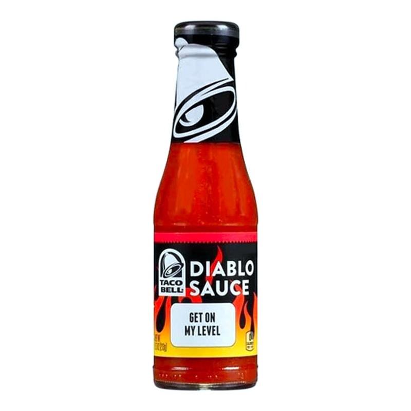 achat taco bell diablo sauce sauce piquante us way of life. Black Bedroom Furniture Sets. Home Design Ideas