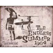 Plaque publicitaire métal summer 1964