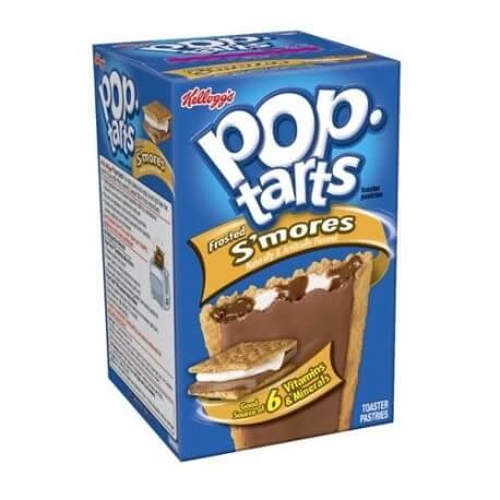 Kellogg's Pop Tarts chocolat chamallows: «Kellogg's S'mores Pop-Tarts»