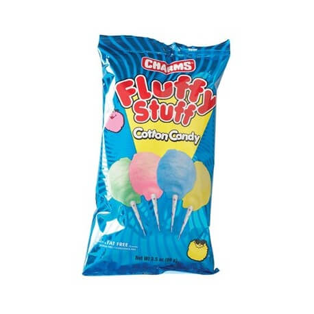 Barbe à papa Charms:«Fluffy Stuff Cotton Candy Bag »