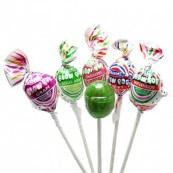 Sucettes Charms Blow pop avec chewing gum (x5)  : « Charms Blow pops Assorted »