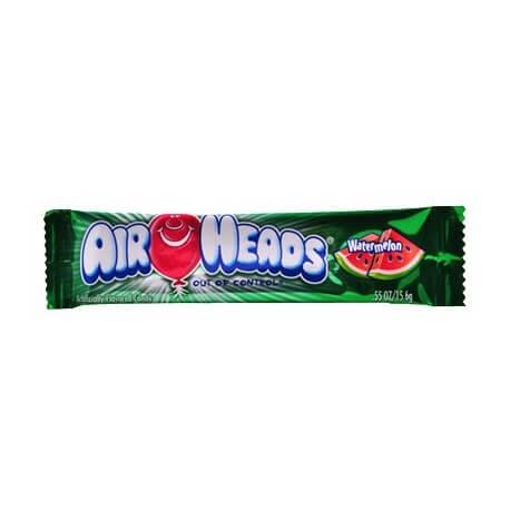 Bonbon Airheads à la pastèque (x2): «Airheads watermelon taffy candy»