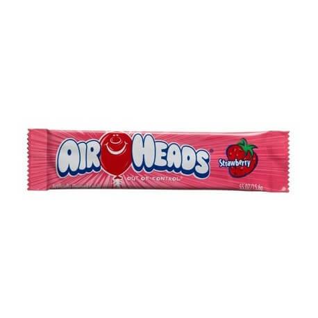 Bonbon Airheads à la fraise (x2): «Airheads strawberry taffy candy»