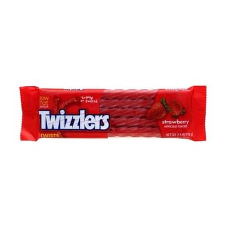 Bonbon «petite corde» à la fraise: «Twizzlers Hershey's Strawberry»