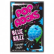 Bonbon Pop rocks à la mure : « Pop rocks Blue Razz »