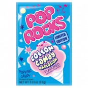 Bonbon Pop rocks goût Barbe à papa : « Pop rocks cotton candy »