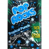 Bonbon Pop rocks goût fruits tropicaux : « Pop rocks Fruit punch »