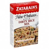Zatarin's «Riz sauvage» façon Nouvelle-Orléans: « Zatarain's New Orleans Style Dirty rice»
