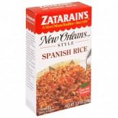 Zatarin's «Riz à l'espagnole» façon Nouvelle-Orléans: « Zatarain's New Orleans Style Spanish rice»