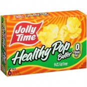Popcorn «léger en beurre » à cuire au micro-onde Jolly Time : « Jolly TimeHealthy butter microwave »