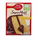 Préparation pour gâteau «moelleux jaune» Betty Crocker: «Betty Crocker super moist yellow mix»