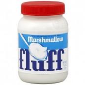 Pâte à tartiner Marshmallows saveur vanille : « Fluffernutter Marshmallow Fluff »