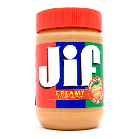 Beurre de cacahuète JIF : « Jif Creamy Peanut Butter »
