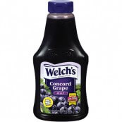 Confiture gelée de Raisin Welch's : «  Welch's grape Jelly – Squeezy »
