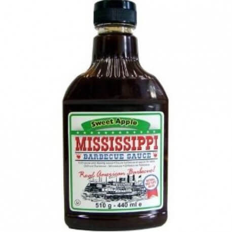 Sauce barbecue Mississippi à la pomme : « Mississippi Barbecue Sauce Sweet Apple BBQ Sauce»
