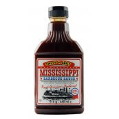Sauce barbecue Mississippi douce et épicée: «Mississippi Barbecue Sauce sweet and spicy»