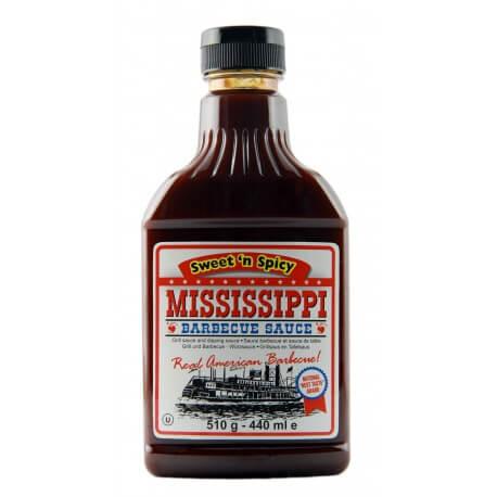 Sauce barbecue Mississippi douce et épicée: «Mississippi Barbecue Sauce sweet and spicy»