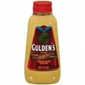 Moutarde épicée brune Gluden's : « Gluden's spicy brown mustard »