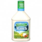 Sauce Ranch pour salades Hidden Valley : « Hidden Valley ranch sauce »