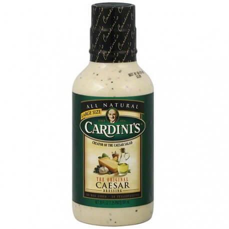Sauce Original Caesar Cardini: «Original caesar Cardini's dressing salad»