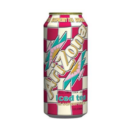 Thé glacé Arizona à la Framboise: «Arizona iced tea Raspberry»