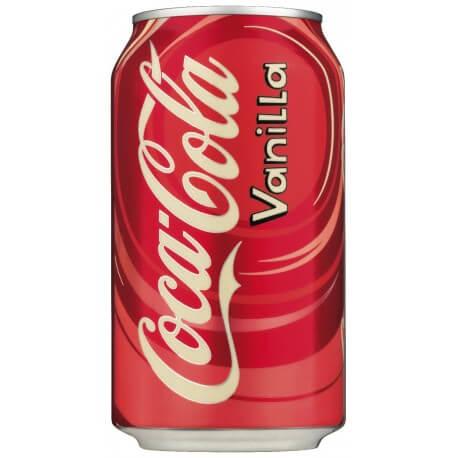 Coca-Cola à la vanille: «Vanilla coca-cola»