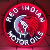 Enseigne néon lumineuse Red Indian