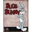 """Plaque publicitaire métal """"Bugs Bunny"""""""