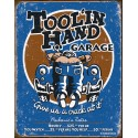 "Plaque publicitaire métal ""Tool ' in hand"""