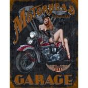 Plaque publicitaire métal Motorhead