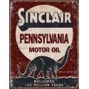 """Plaque publicitaire métal """"Sinclair"""""""