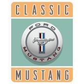 Plaque publicitaire métal Ford Mustang classic