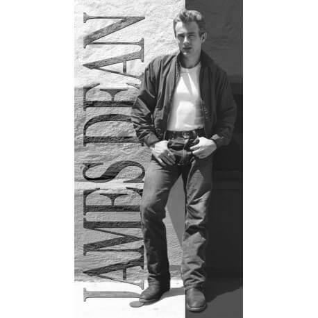 """Plaque publicitaire métal """"James dean portrait"""""""