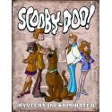 """Plaque publicitaire métal """"Scooby-doo"""""""