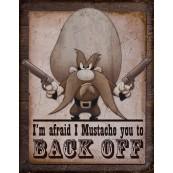 """Plaque publicitaire métal """"Yosemite"""""""