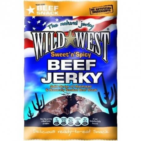 Viande séchée wild west douce et épicée : « Jack link's wild west Sweet and spicy »