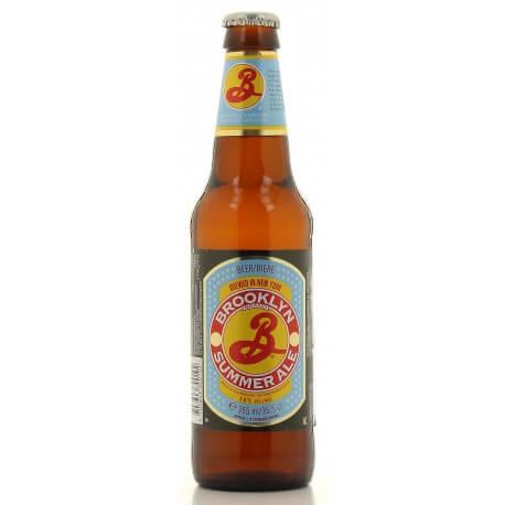 Bière « Americaine » BROOKLYN SUMMER – Brooklyn summer Beer