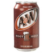 A&W Root Beer Soda Américain  – Root Beer Soda