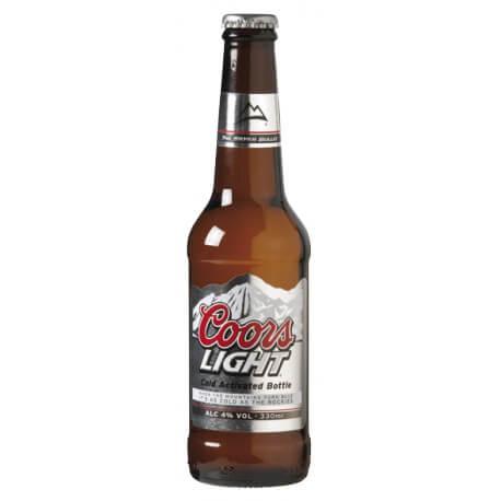 Bière « Américaine » COORS LIGHT – Coors Light Beer