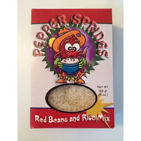Soupe de riz et haricots rouge: «Red beans and rice soup mix»