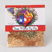 Mélange pour marinade et assaisonnement « Feu de forêt du Texas » : « Texas Wildfire dip mix »