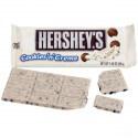 Barre chocolatée au lait Hershey's : «Hershey's: White Chocolate Cookies N Creme»