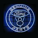Enseigne néon lumineuse Ford USA