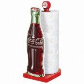 Porte essuie tout coca cola bouteille