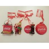 Décorations pour sapin de Noël Coca-Cola USA