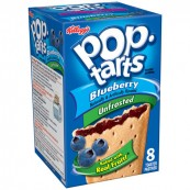Kellogg's Pop Tarts à la myrtille: «Kellogg's Unfrosted Blueberry Pop-Tarts»