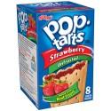 Kellogg's Pop Tarts  à la fraise: «Kellogg's Unfrosted Strawberry Pop-Tarts»
