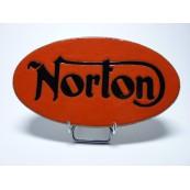 Logo Norton lave émaillée