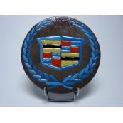 Logo Cadillac lave émaillée